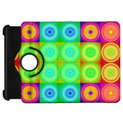 Rainbow Circles Kindle Fire Hd 7  (1st Gen) Flip 360 Case