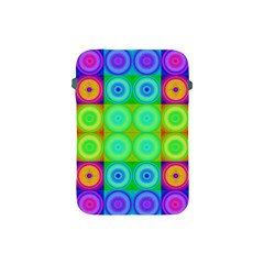 Rainbow Circles Apple Ipad Mini Protective Sleeve
