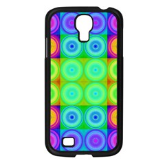 Rainbow Circles Samsung Galaxy S4 I9500/ I9505 Case (black)