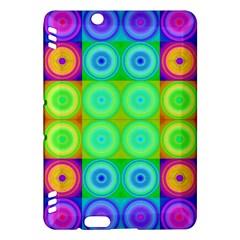 Rainbow Circles Kindle Fire HDX 7  Hardshell Case