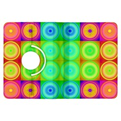 Rainbow Circles Kindle Fire HDX 7  Flip 360 Case