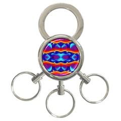 Planet Something 3 Ring Key Chain