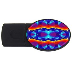 Planet Something 2gb Usb Flash Drive (oval)