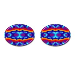 Planet Something Cufflinks (Oval)