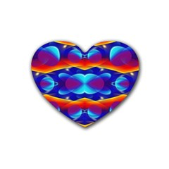 Planet Something Drink Coasters 4 Pack (Heart)