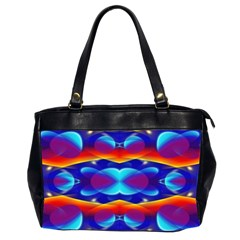 Planet Something Oversize Office Handbag (two Sides)