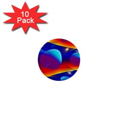 Planet Something 1  Mini Button (10 Pack)