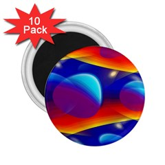 Planet Something 2 25  Button Magnet (10 Pack)