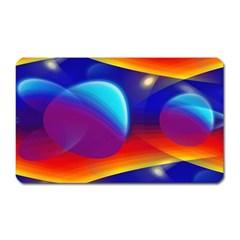 Planet Something Magnet (rectangular)