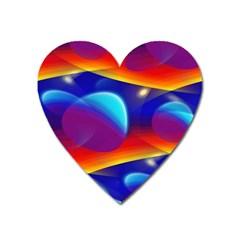 Planet Something Magnet (Heart)