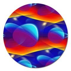Planet Something Magnet 5  (Round)