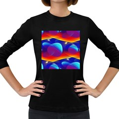 Planet Something Women s Long Sleeve T-shirt (Dark Colored)