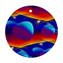Planet Something Round Ornament (Two Sides)