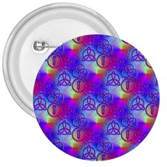 Rainbow Led Zeppelin Symbols 3  Button