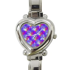 Rainbow Led Zeppelin Symbols Heart Italian Charm Watch