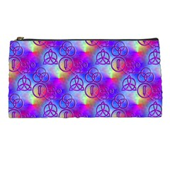 Rainbow Led Zeppelin Symbols Pencil Case