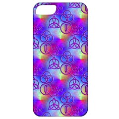 Rainbow Led Zeppelin Symbols Apple Iphone 5 Classic Hardshell Case