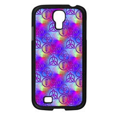 Rainbow Led Zeppelin Symbols Samsung Galaxy S4 I9500/ I9505 Case (black)
