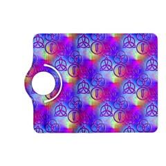 Rainbow Led Zeppelin Symbols Kindle Fire Hd 7  (2nd Gen) Flip 360 Case