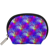 Rainbow Led Zeppelin Symbols Accessory Pouch (Small)