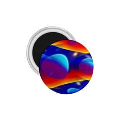 Planet Something 1.75  Button Magnet