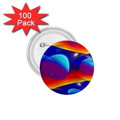 Planet Something 1 75  Button (100 Pack)