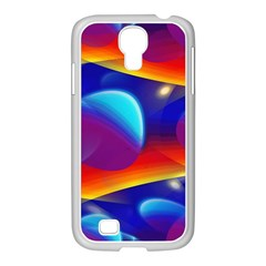 Planet Something Samsung GALAXY S4 I9500/ I9505 Case (White)