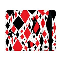 Distorted Diamonds In Black & Red Samsung Galaxy Tab Pro 8.4  Flip Case