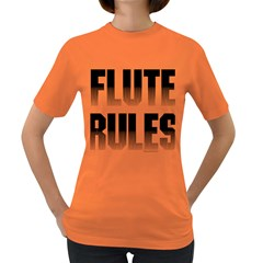 Flute Rules Women s T-shirt (Colored)