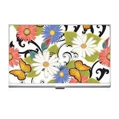 Floral Fantasy Business Card Holder