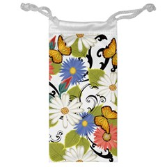 Floral Fantasy Jewelry Bag