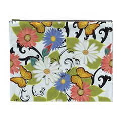 Floral Fantasy Cosmetic Bag (xl)