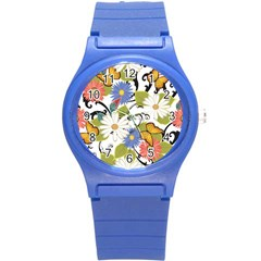 Floral Fantasy Plastic Sport Watch (small)