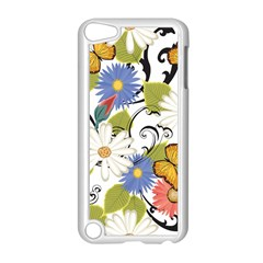 Floral Fantasy Apple iPod Touch 5 Case (White)