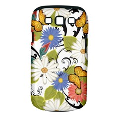 Floral Fantasy Samsung Galaxy S III Classic Hardshell Case (PC+Silicone)