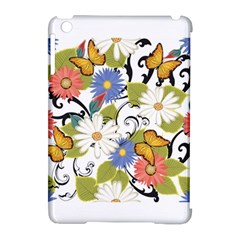 Floral Fantasy Apple iPad Mini Hardshell Case (Compatible with Smart Cover)