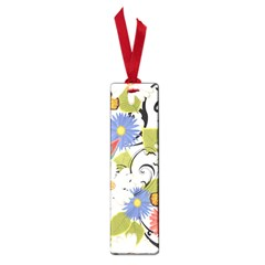 Floral Fantasy Small Bookmark
