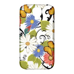 Floral Fantasy Samsung Galaxy S4 Classic Hardshell Case (PC+Silicone)