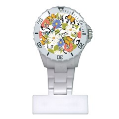 Floral Fantasy Nurses Watch