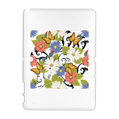 Floral Fantasy Samsung Galaxy Note 10.1 (P600) Hardshell Case