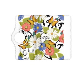 Floral Fantasy Kindle Fire Hd 7  (2nd Gen) Flip 360 Case