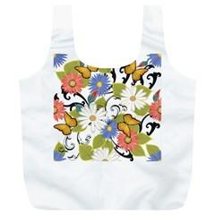 Floral Fantasy Reusable Bag (XL)