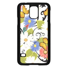 Floral Fantasy Samsung Galaxy S5 Case (black)