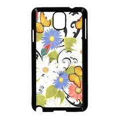 Floral Fantasy Samsung Galaxy Note 3 Neo Hardshell Case (Black)