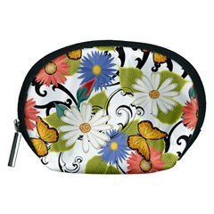 Floral Fantasy Accessory Pouch (Medium)