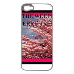 Weeping Apple Iphone 5 Case (silver)
