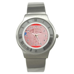 Pinkfair Stainless Steel Watch (slim)