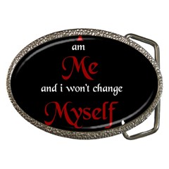 Rude Attitude Wallpaper 10203165[1] Belt Buckle (Oval)