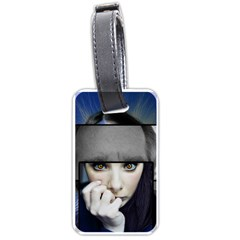 Fibro Brain Luggage Tag (one Side)