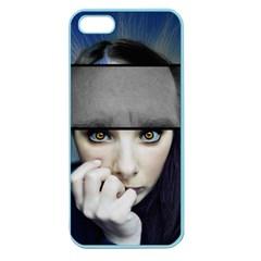 Fibro Brain Apple Seamless Iphone 5 Case (color)